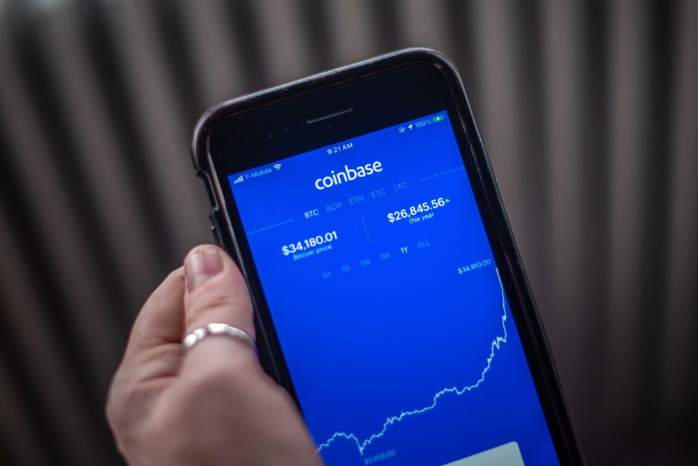 ビットコイン・ブーム最良の投資先コインベース